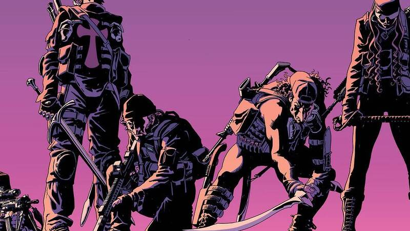 The Old Guard: Opening Fire, review of the first volume of the Greg Rucka series