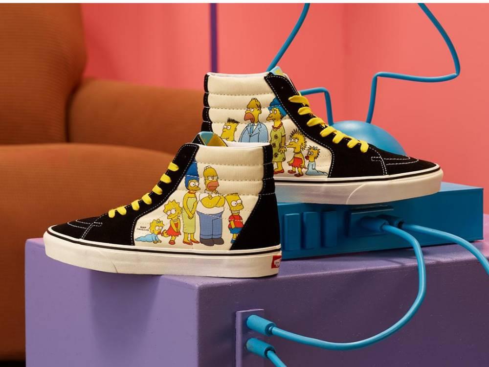 Vans x Simpson