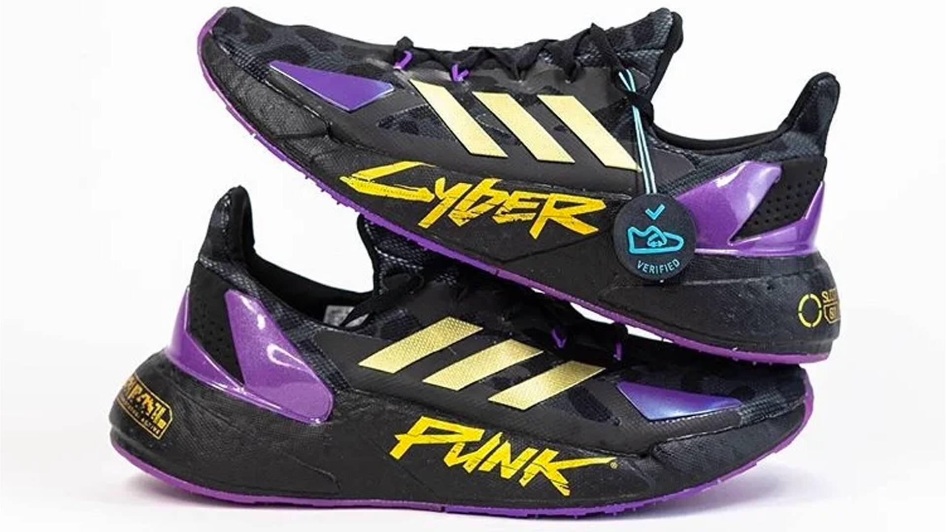 Adidas X Cyberpunk