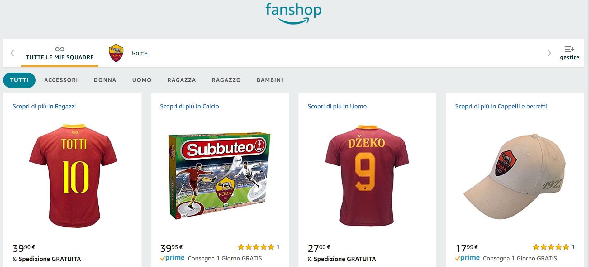 Amazon Fan Shop
