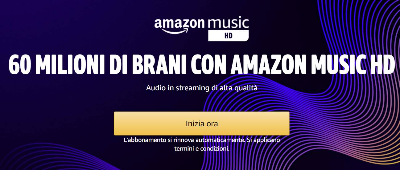 Amazon Music HD banner 2