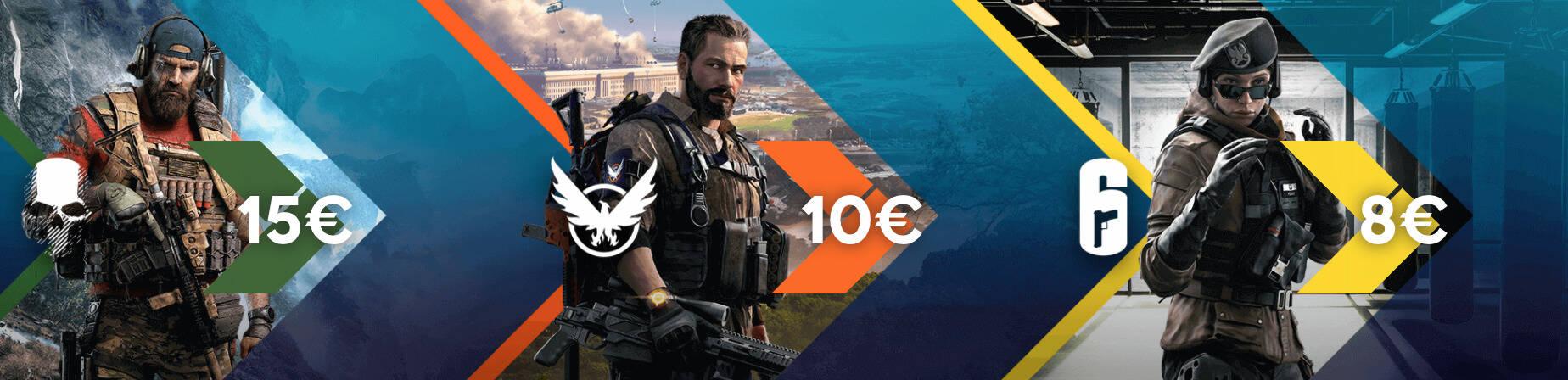 banner giochi ubisoft in promozione