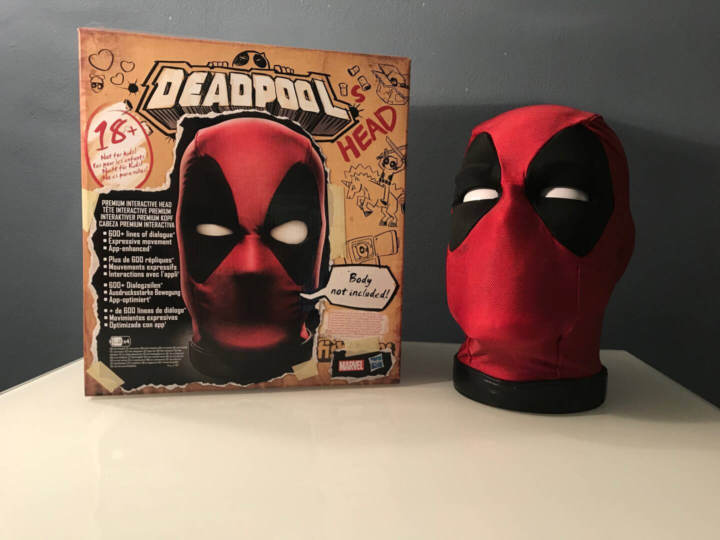 Deadpool testa elettronica