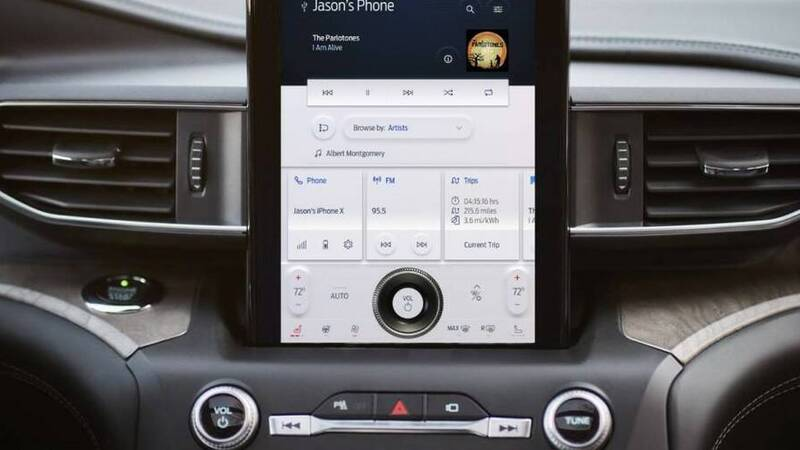 Ford SYNC 4, the next generation infotainment system