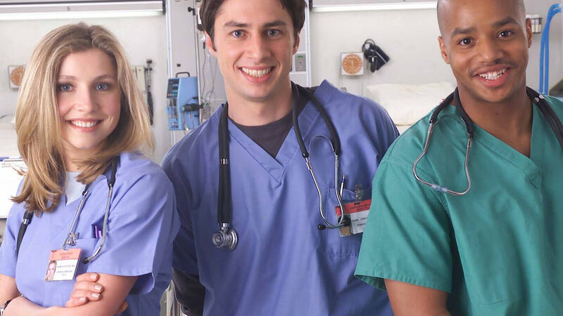 Scrubs, 20 years from the pilot of doctors at the first irons