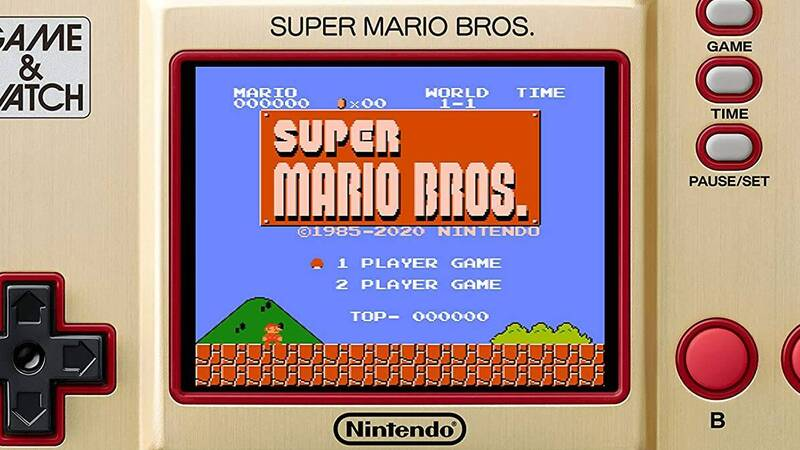 Game & Watch Super Mario Bros: here's where to buy it at the best price