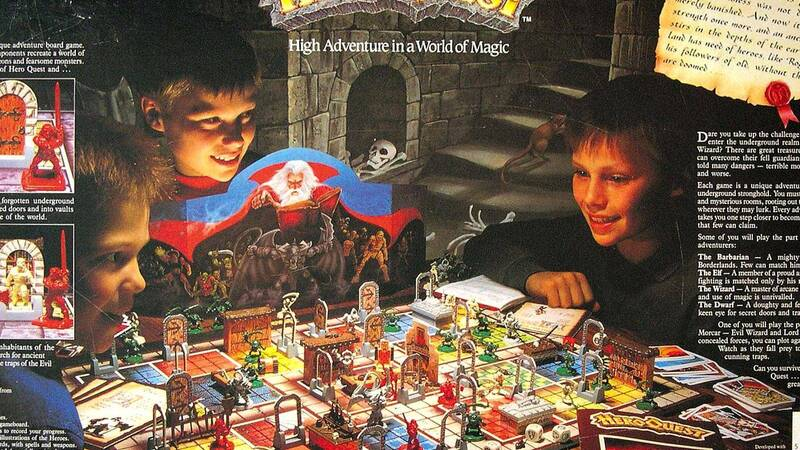 HeroQuest is about to return and Hasbro communicates it with a countdown