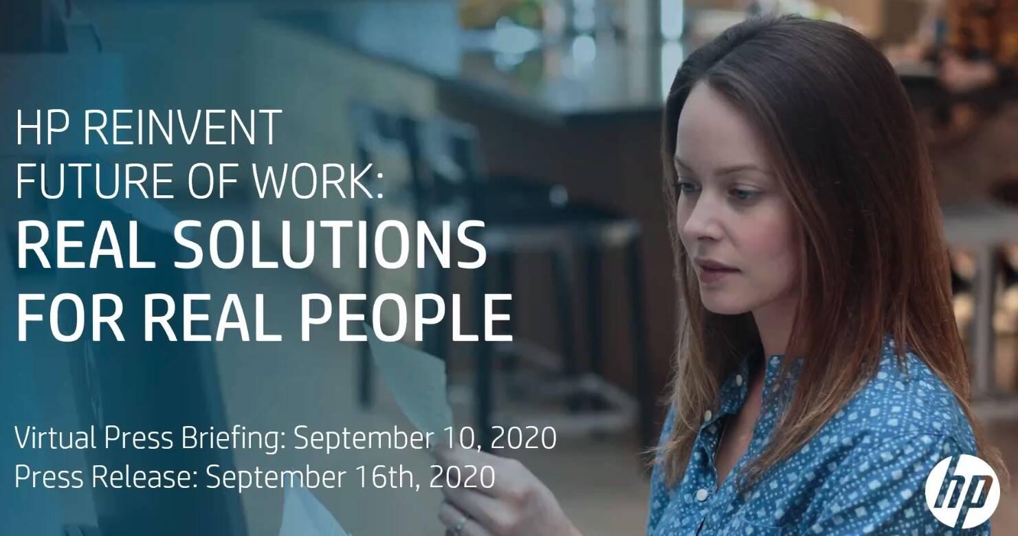 hp Reinvent Partner Event