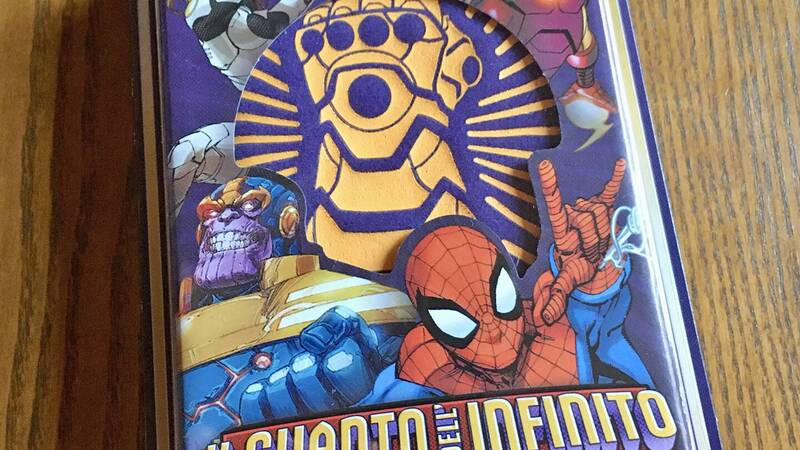 The Infinity Gauntlet - A Love Letter Game, the review