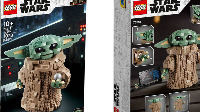 LEGO: The new LEGO Star Wars # 75318 The Child set has been announced
