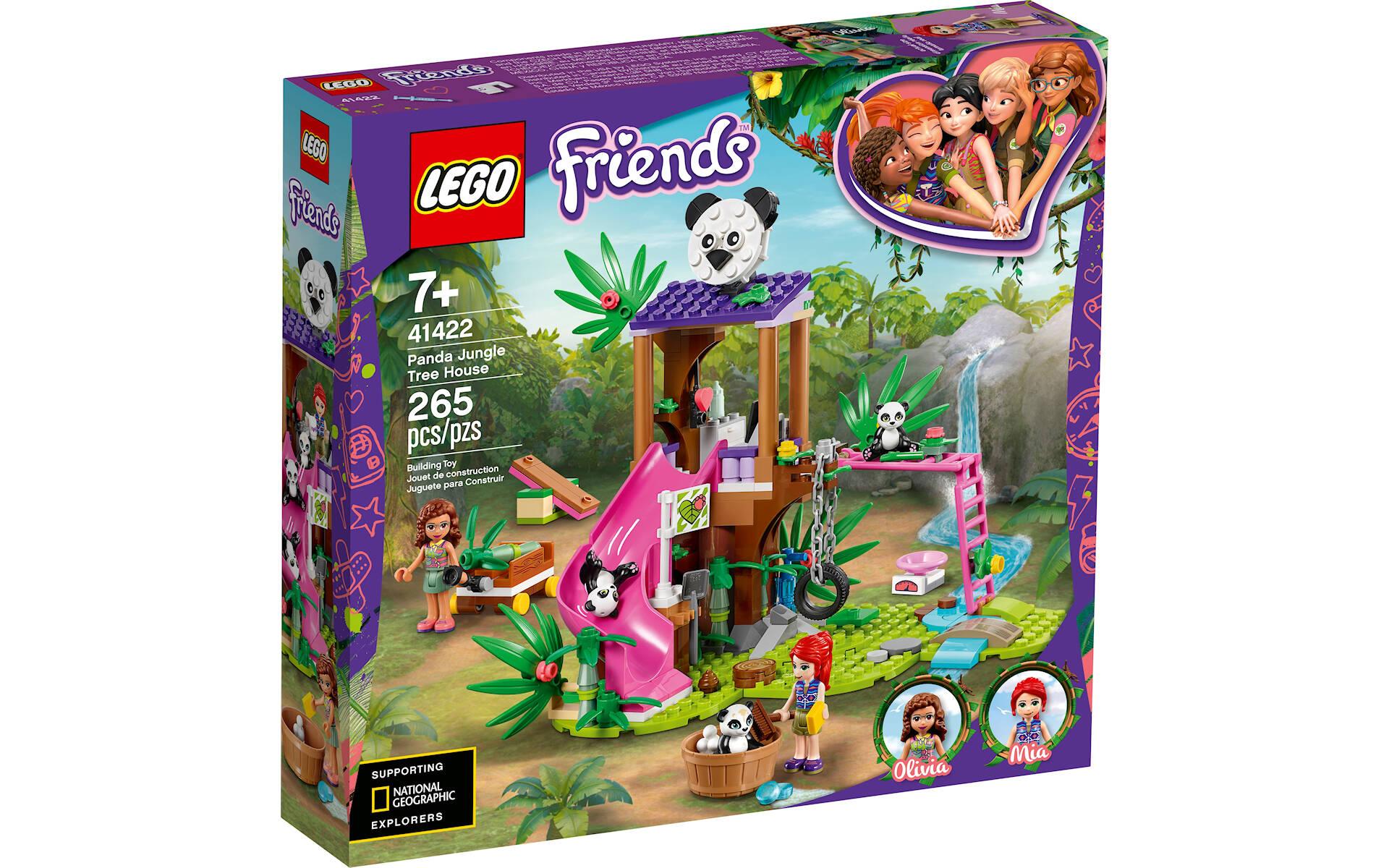LEGO FRIENDS JUNGLE RESCUE