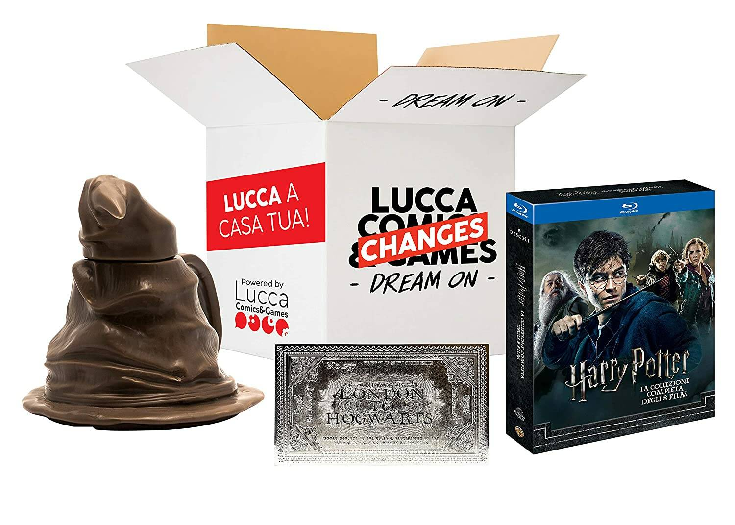 Lucca Comics and Games 2020 - Amazon Bundle