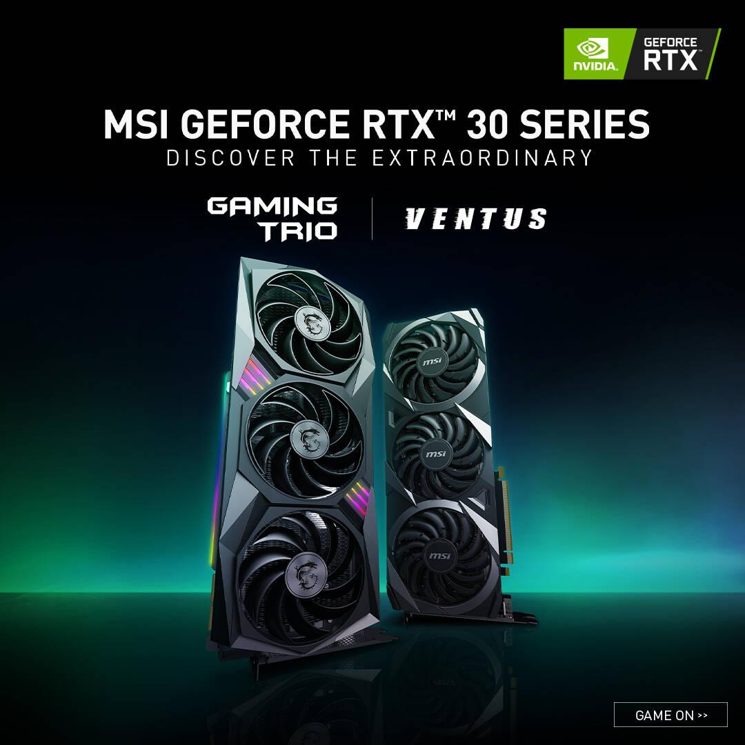 MSI GeForce RTX 3090 3080