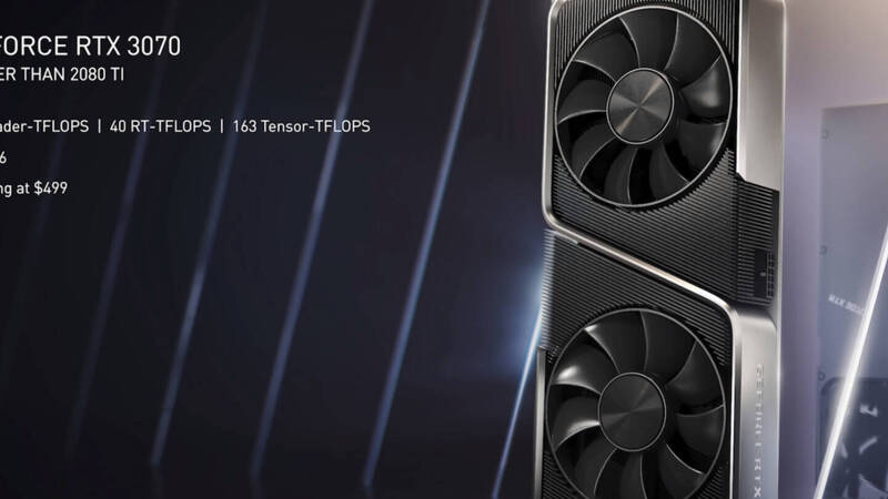 The RTX 3070 outperforms the RTX 2080 Ti even in Ashes of the Singularity