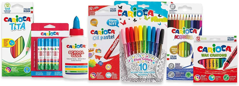 promozione colori Carioca su Amazon