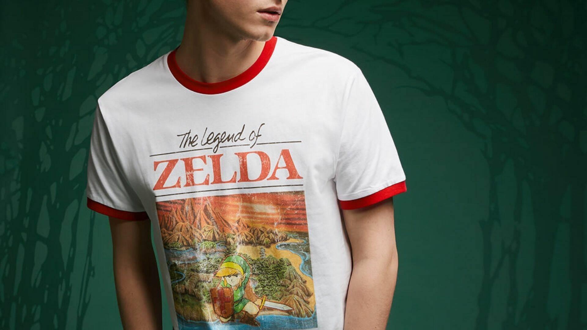 t-shirt nintendo da zavvi