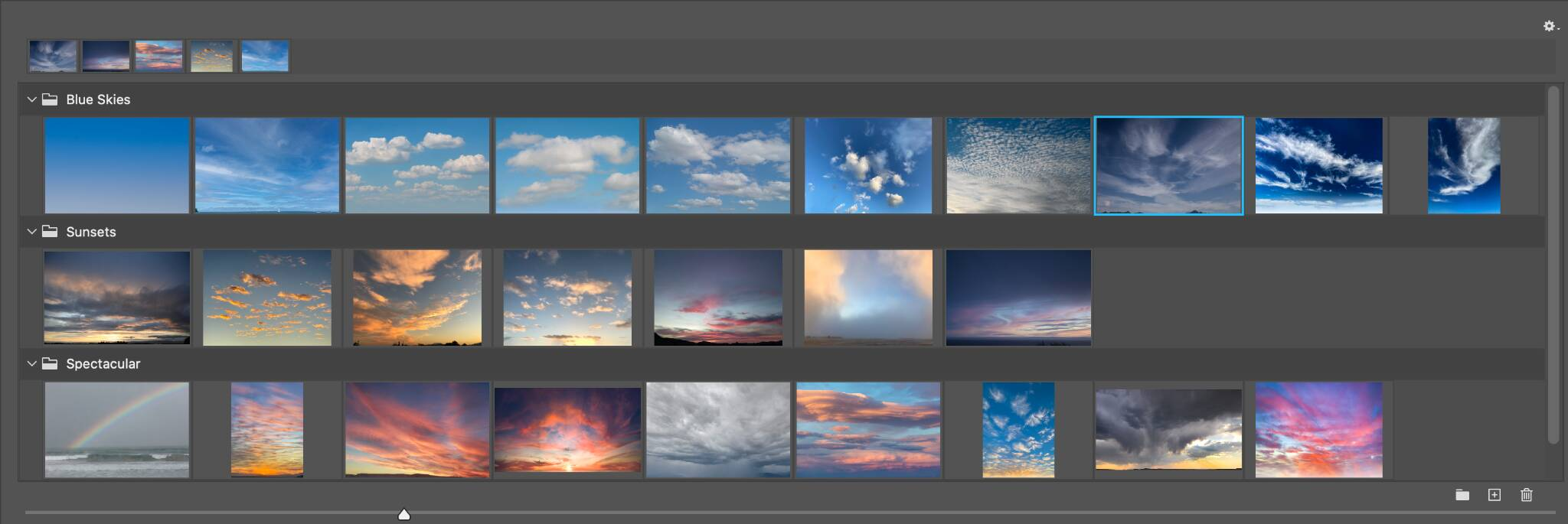 Adobe Photoshop Sky