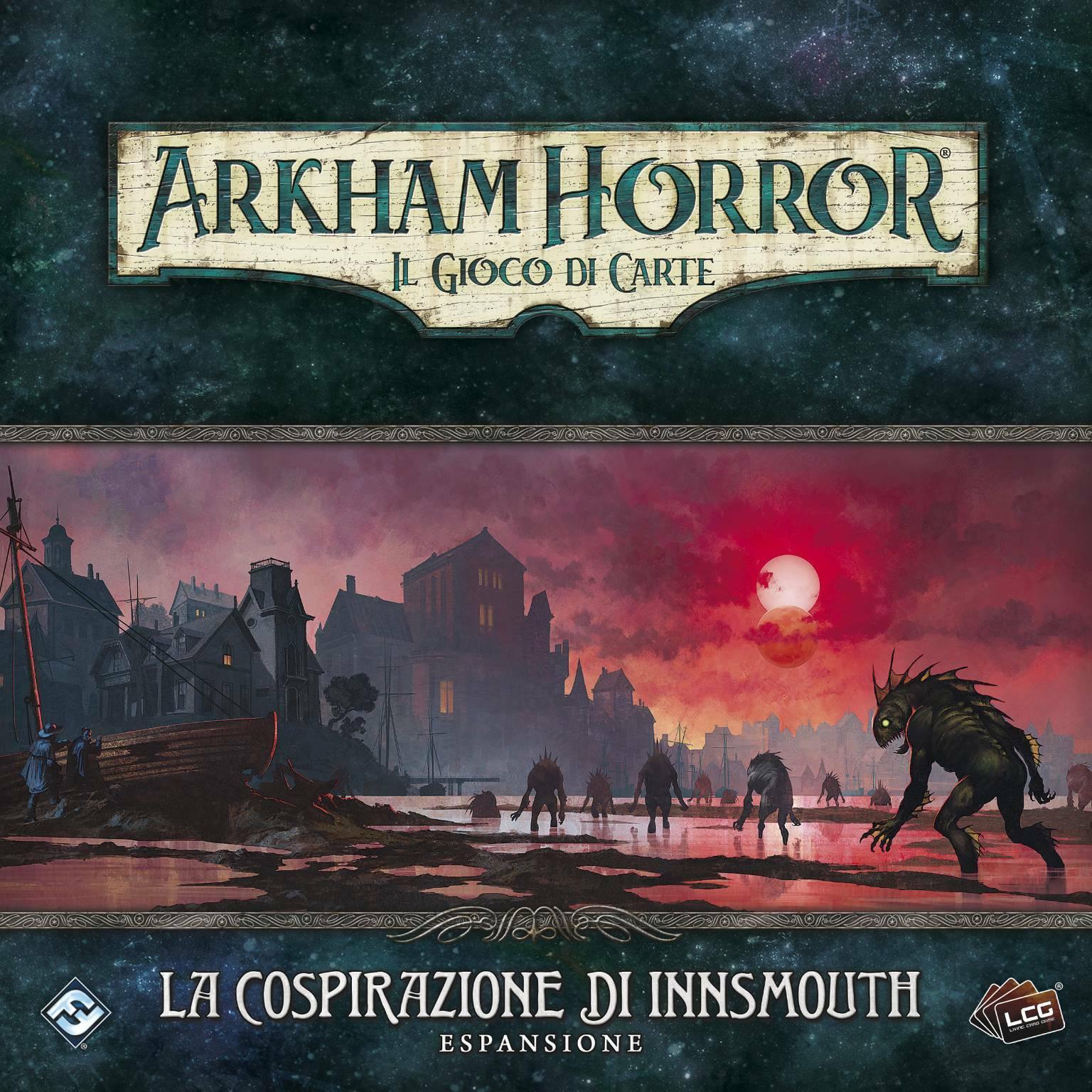 Arkham Horror: il gioco di carte - La Cospirazione di Innsmouth