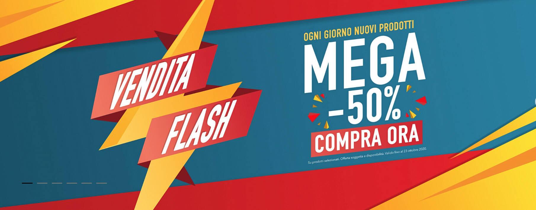 banner eaglemoss vendita flash