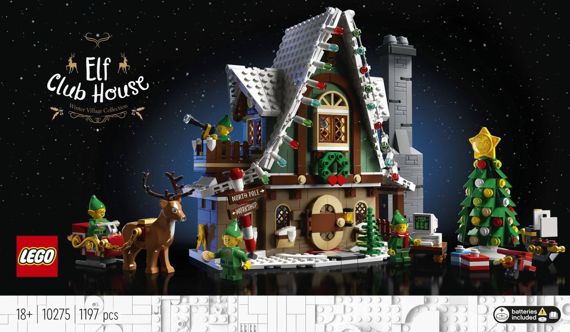 Casa Elfi Lego - Natale 2020
