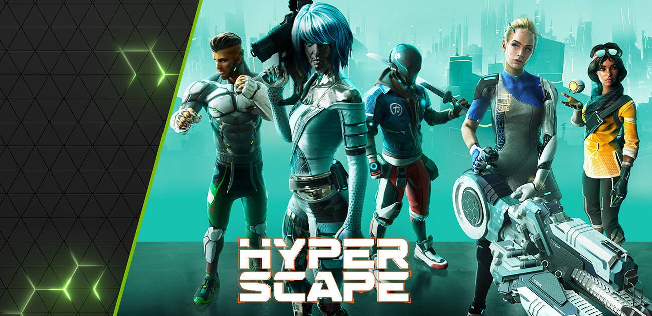 contenuti esclusivo per Hyperscape da Nvidia