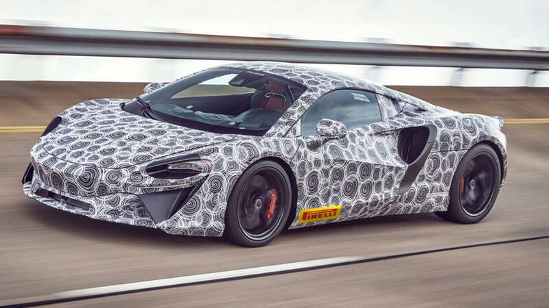 New McLaren hybrid in final testing before market release