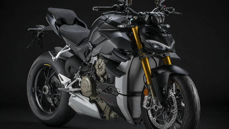 Ducati Streetfighter V4 S from November with Euro 5 engine