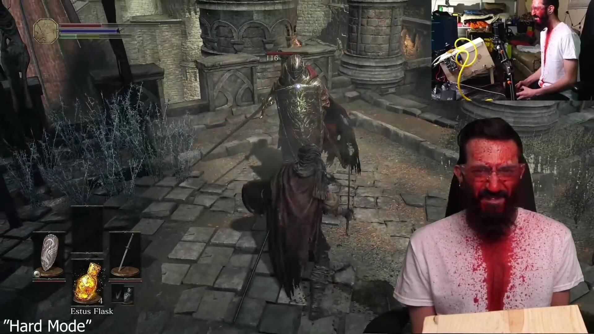 Dark Souls 3 big secret sangue finto