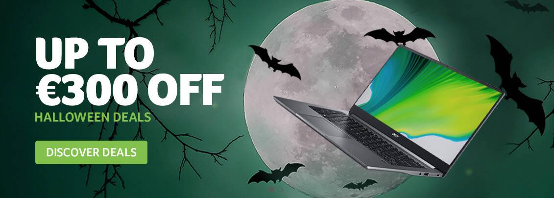 Fino a 400€ di sconto per lo Speciale Halloween di Acer Store!