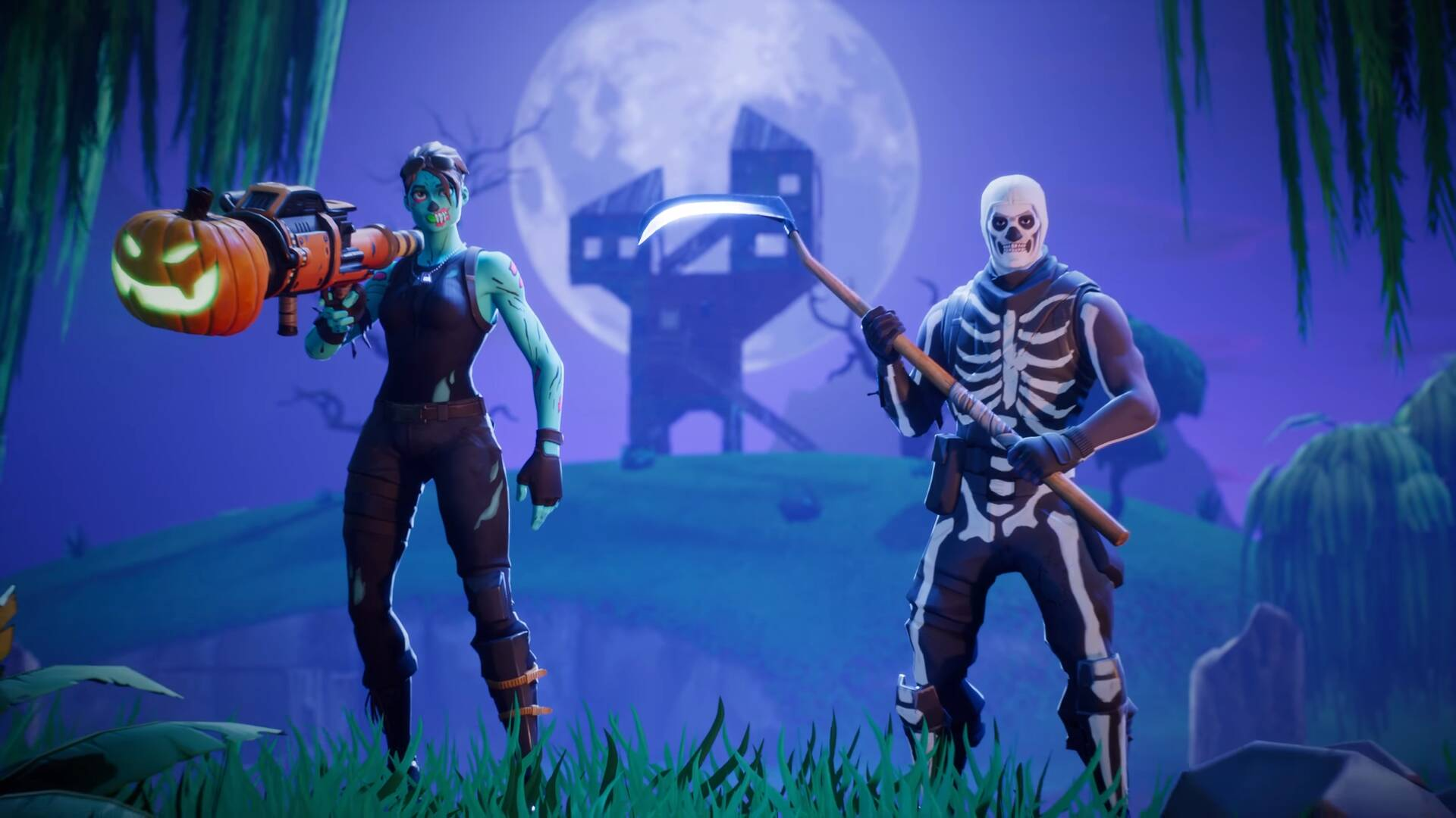 Fortnite Fortnitemares 2020 zombie