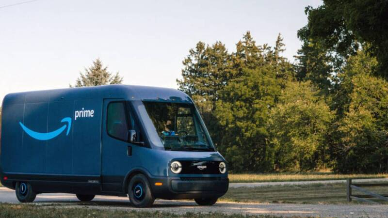 Amazon's first electric delivery vehicle arrives