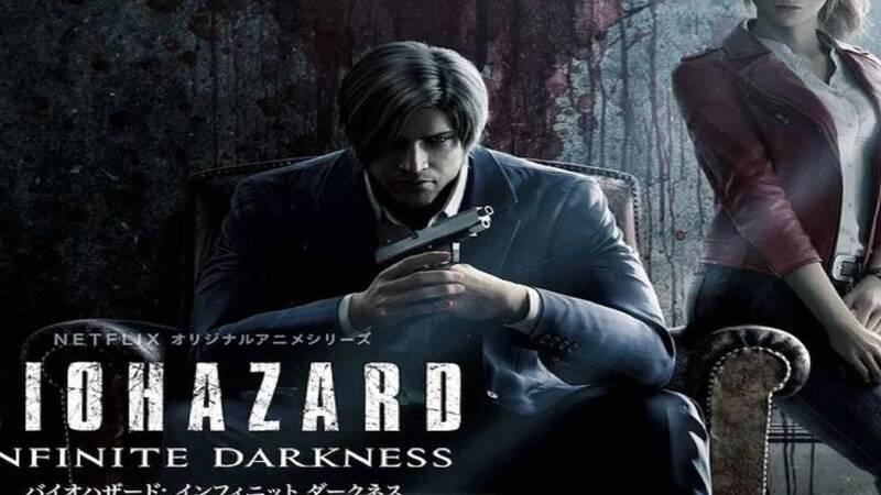 Resident Evil Infinite Darkness - manga coming soon