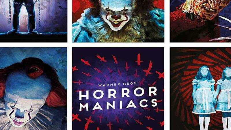 Horror Maniacs, DC Collection Box Set and IT 2-Film Collection available tomorrow