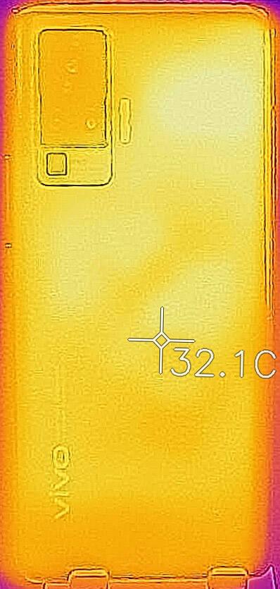 Vivo X51 - Foto termica
