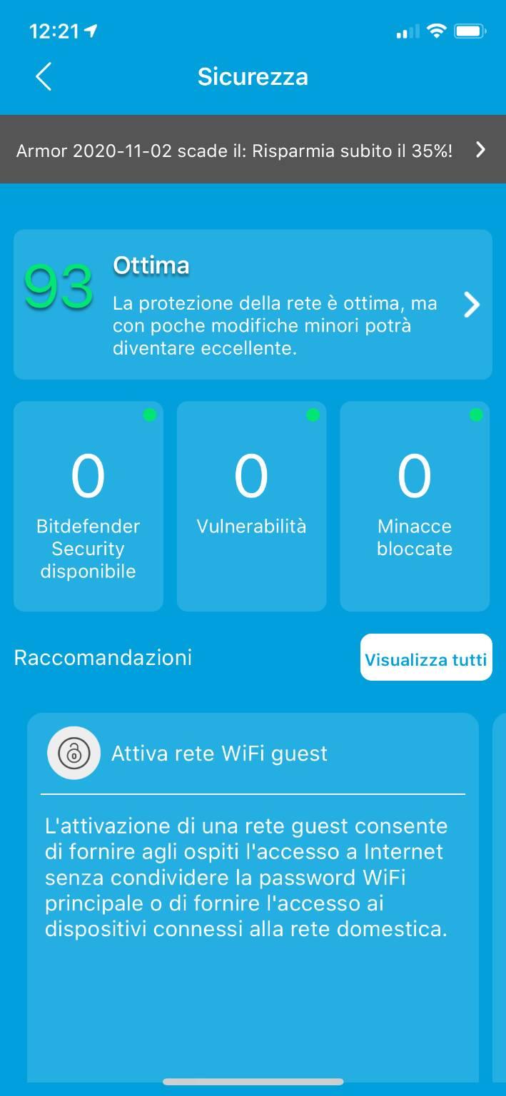 Orbi - Applicazione iOS