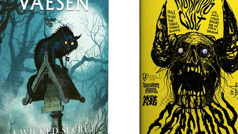 Free League Publishing: two new manuals for Vaesen and MÖRK BORG at launch!