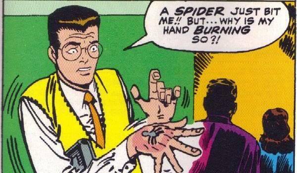 Hasbro Peter Parker Marvel Comics Spider-man