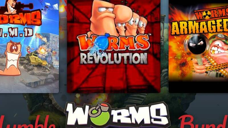 Worms: many titles of the famous saga at a super price in the new Humble Bundle bundle!