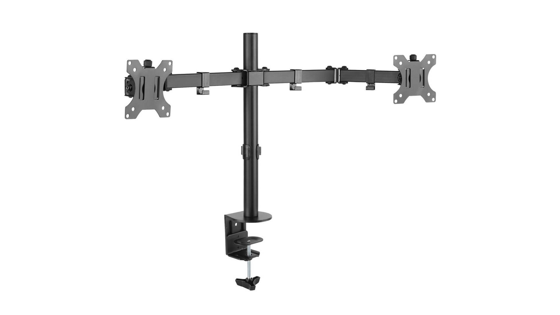 ICA-LCD 582-D Supporto da scrivania per doppio monitor 13-32 pollici