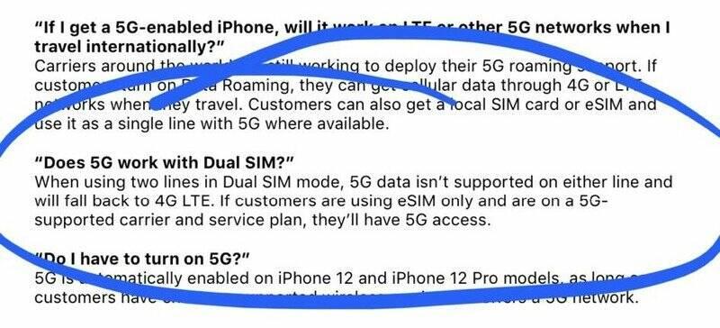 iPhone 12 5G Dual SIM