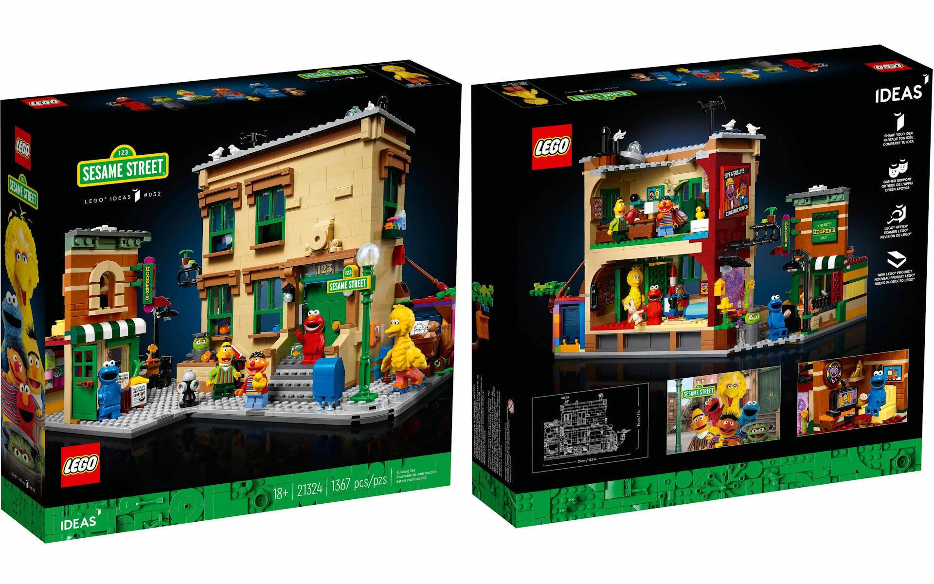 LEGO IDEAS SESAME STREET