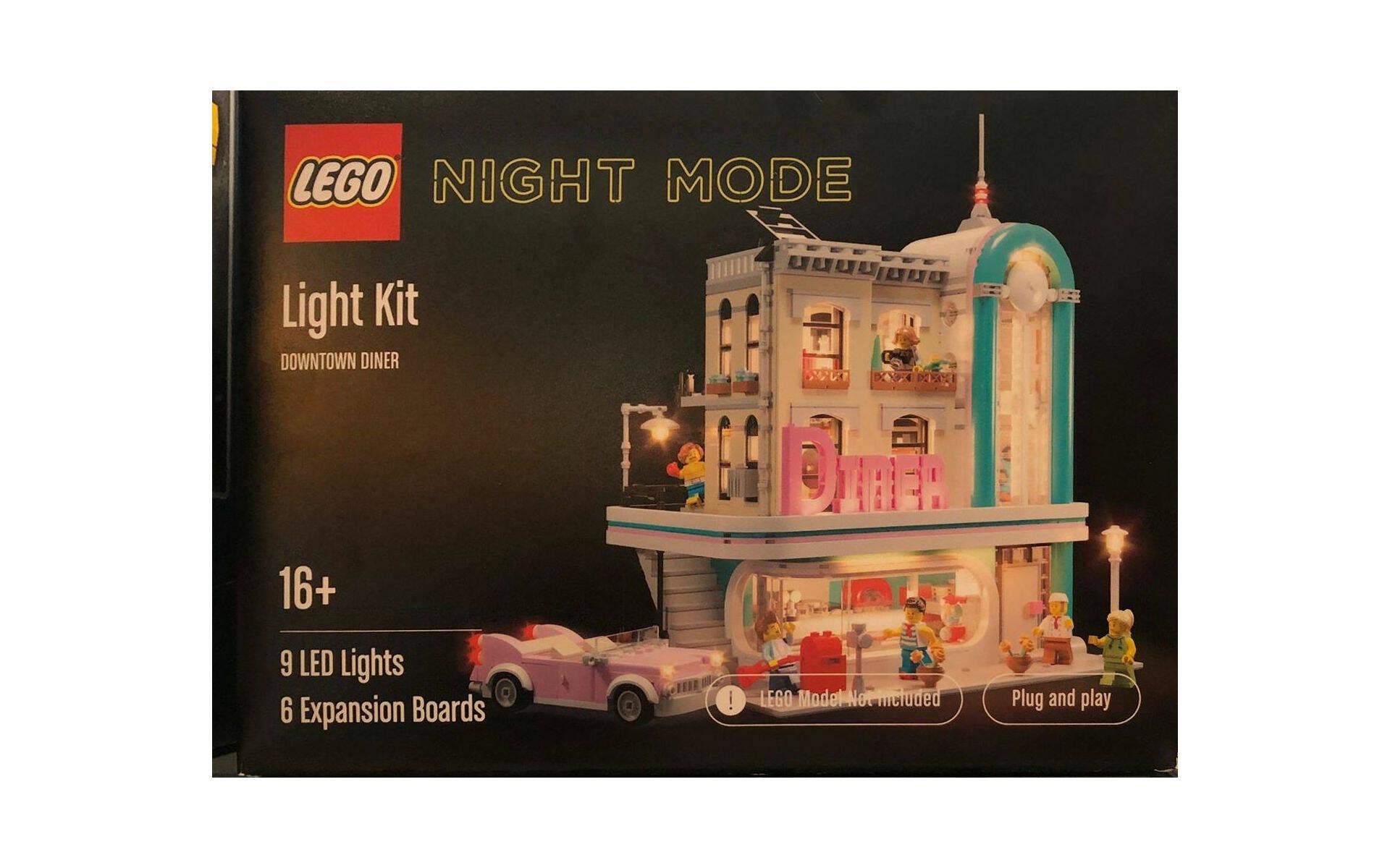 LEGO LAB CUSTOM City Set