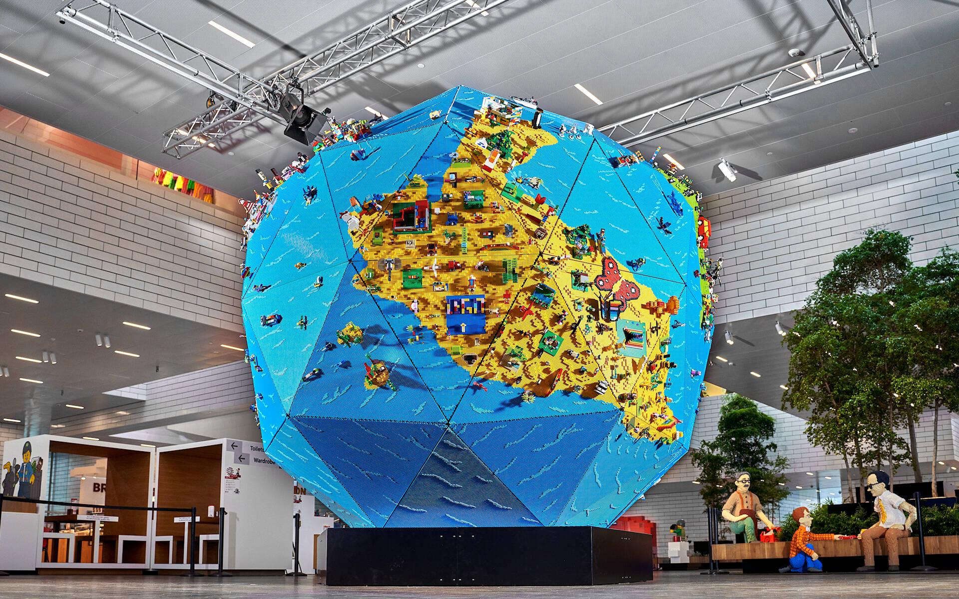 LEGO REBUILD THE WORLD