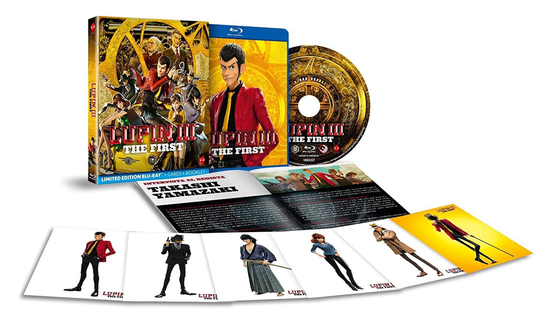 Lupin III - The First arriva in DVD e Blu-Ray