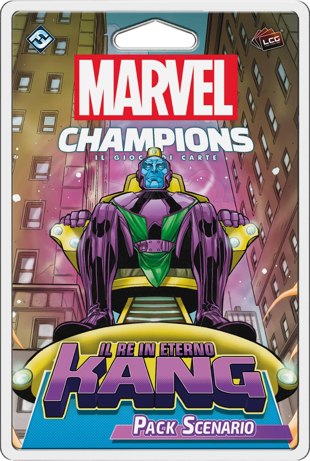 Marvel Champions: il gioco di carte - Il re in eterno Kang