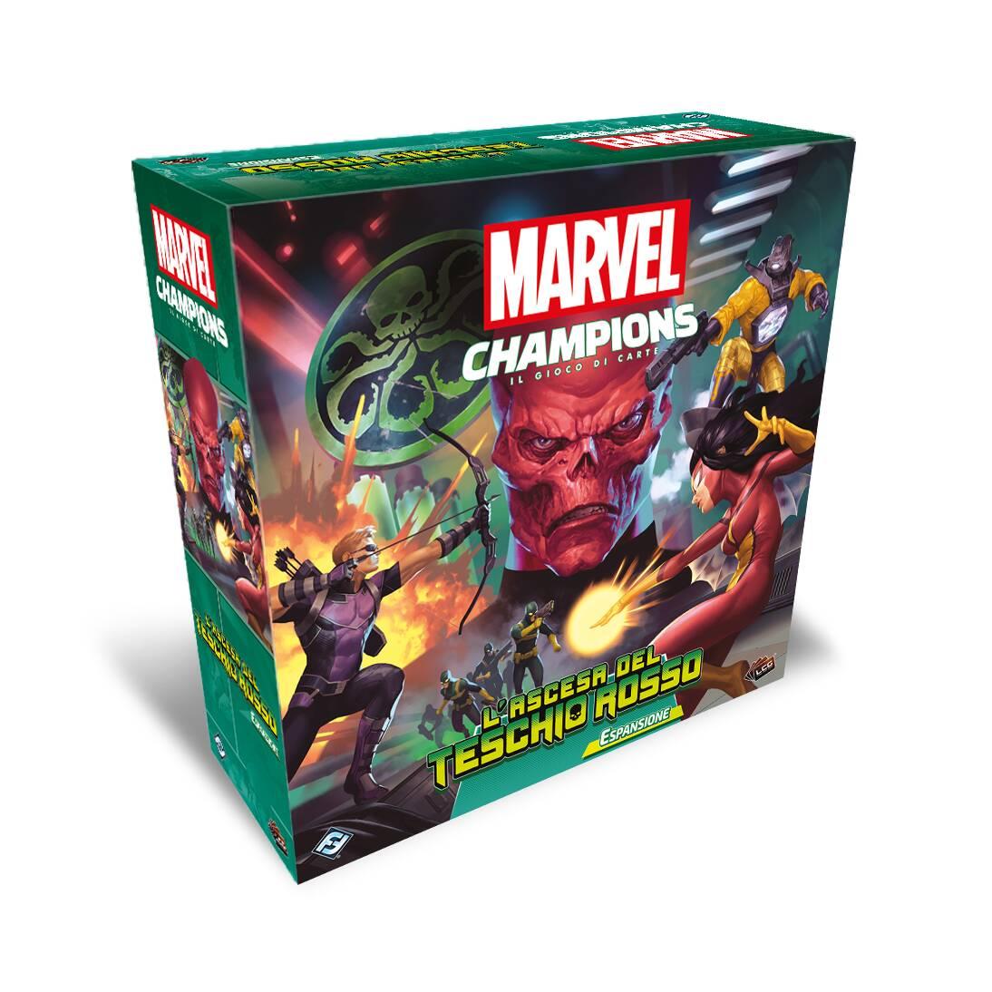 Marvel Champions: il gioco di carte - L'ascesa del Teschio Rosso