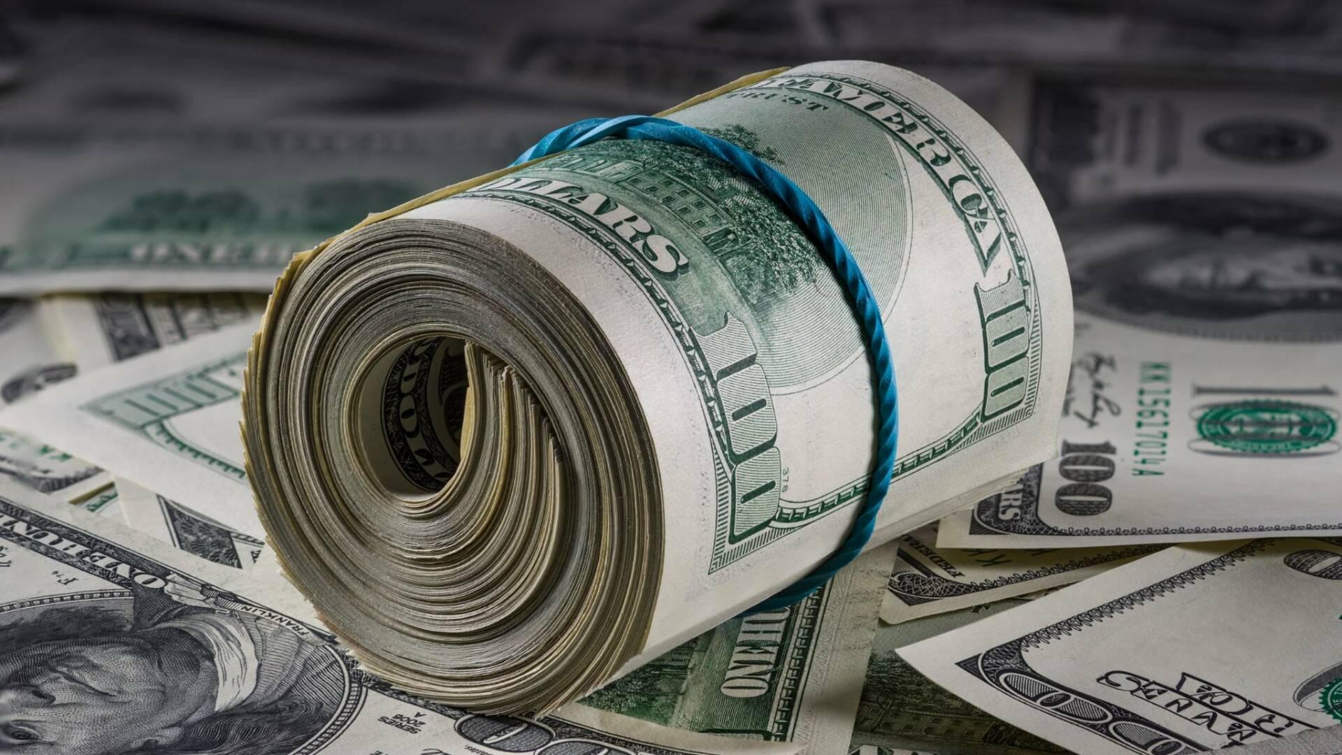 Mazzetta dollari denaro cash soldi contanti banconote