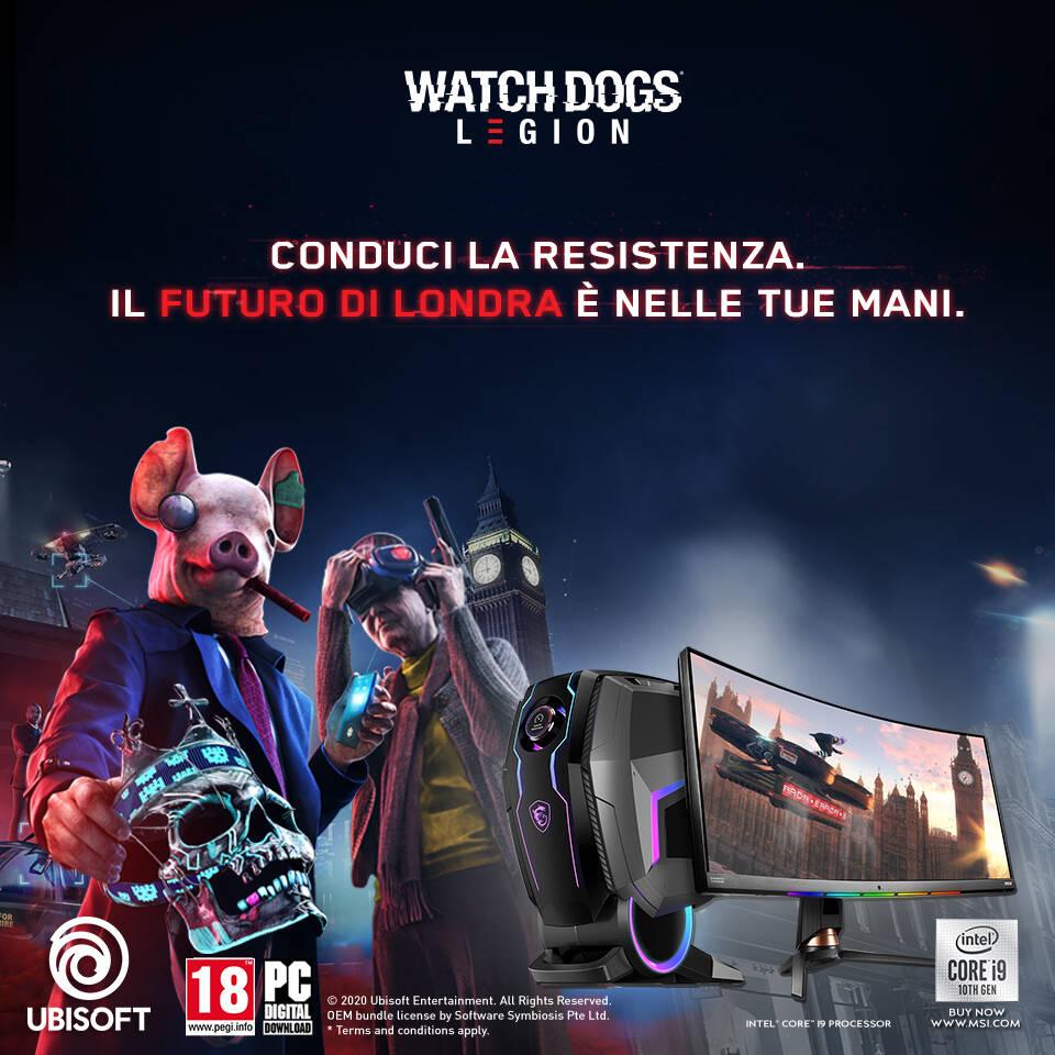 MSI Watch Dogs Legion