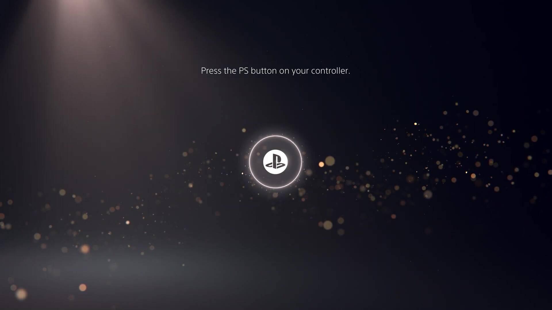 PS5 PlayStation 5 Interfaccia Utente