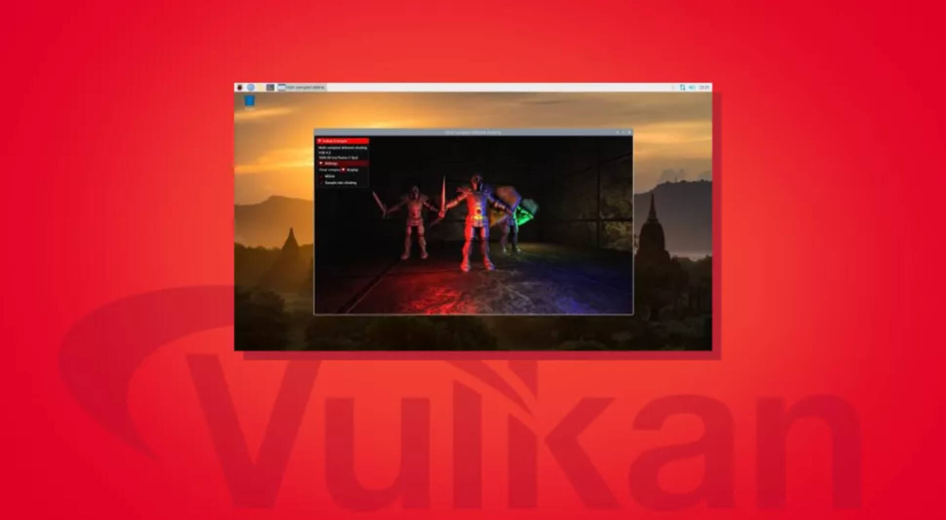 Raspberry Pi 4 VulKan